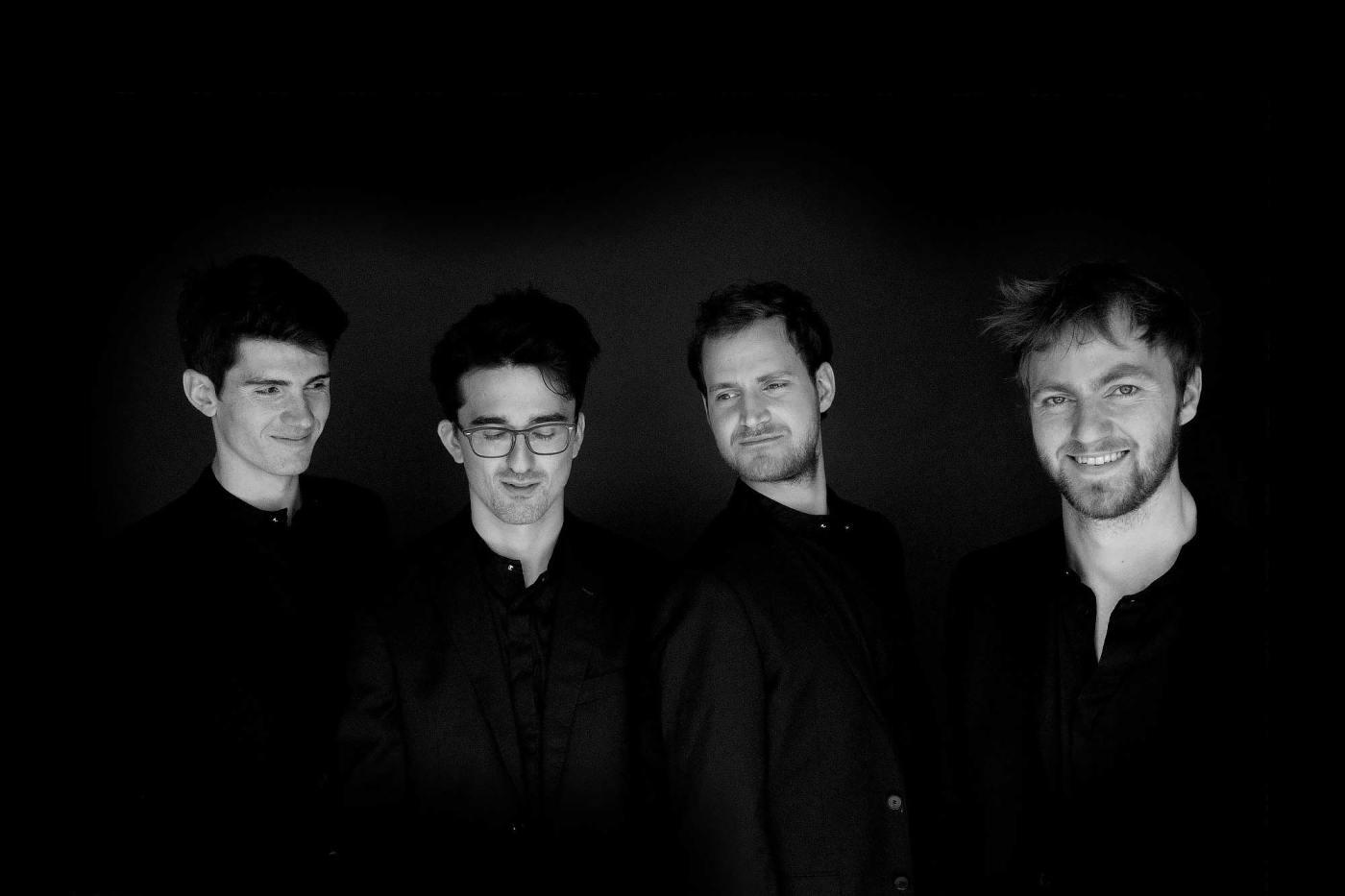 Photo du quatuor Agathe